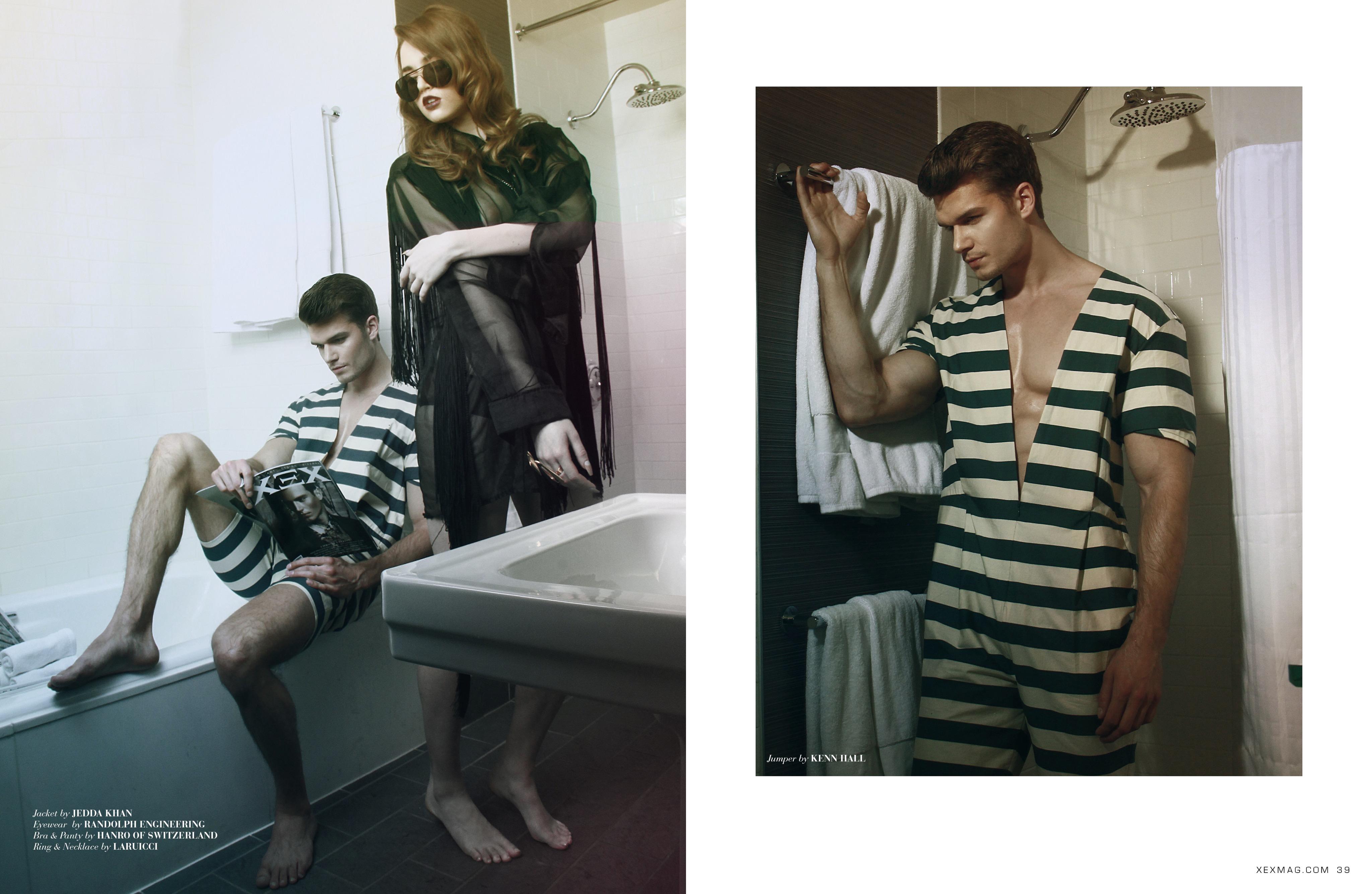Dominik Persy XEX Magazine