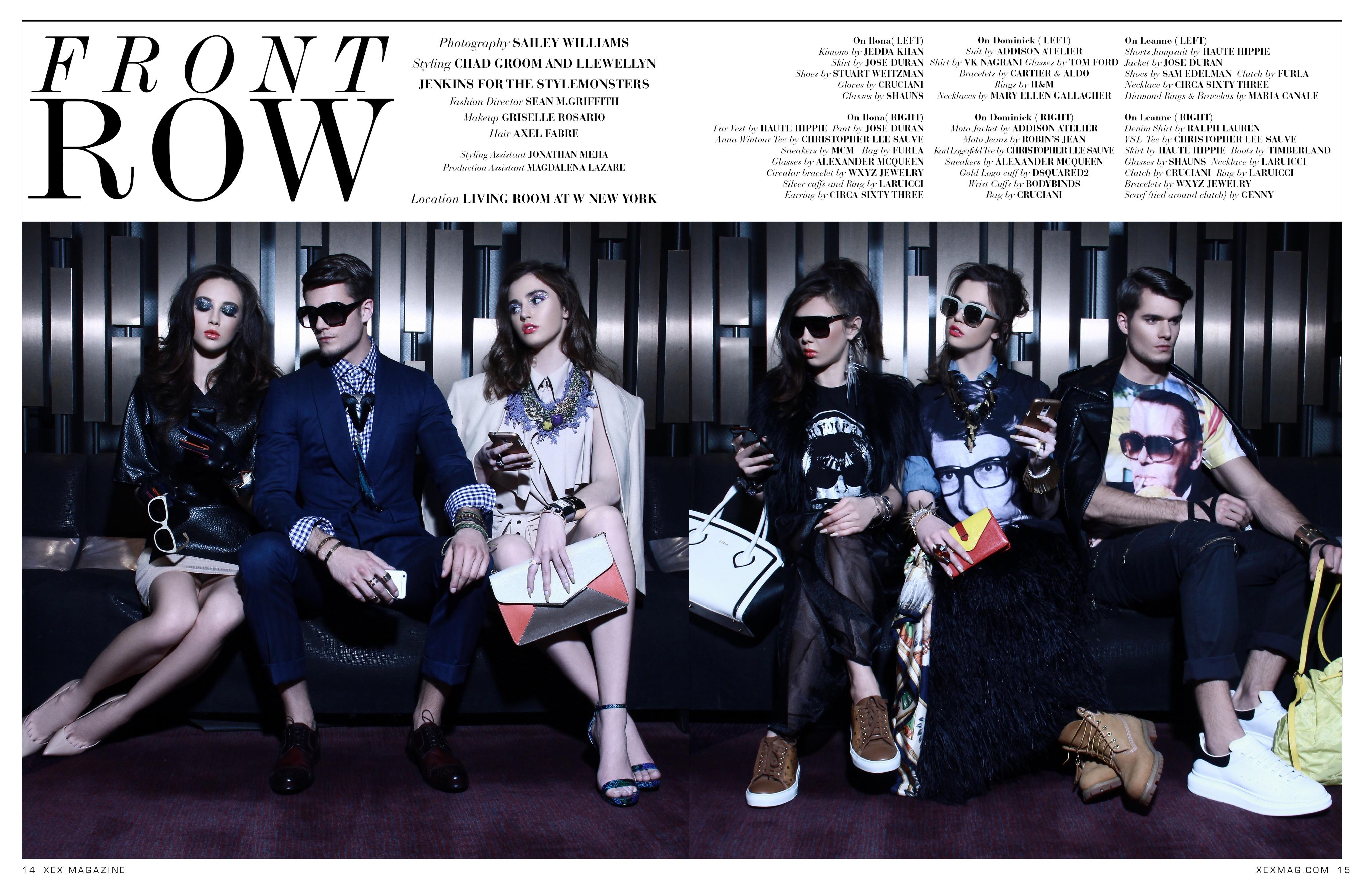 Dominik Persy Magazine