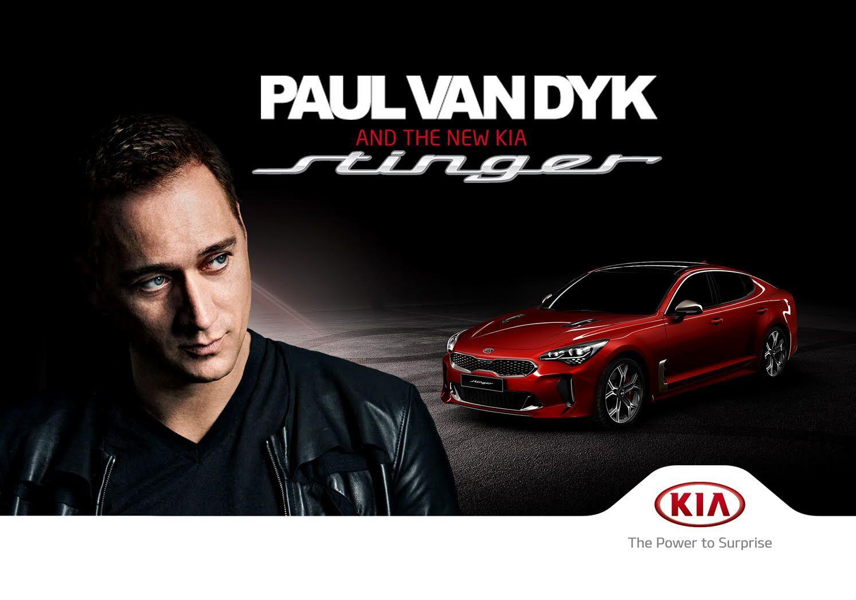 Kia Stinger Paul van Dyk © Kia Motors