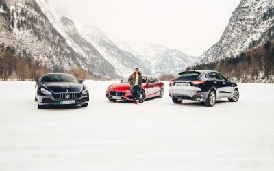 Maserati ICE Drive in Saalfelden