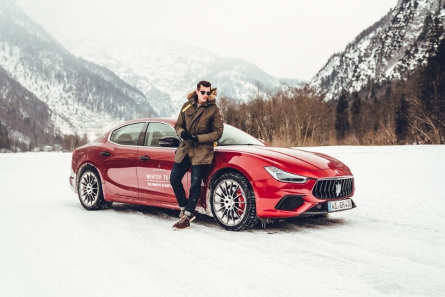 MASERATI WINTER-TOUR SAALFELDEN @dpersy