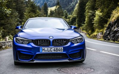 BMW M3 CS Test