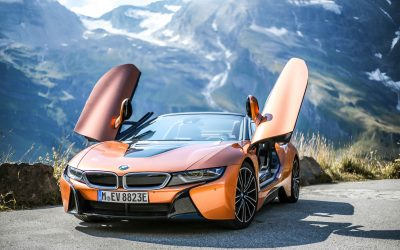 BMW i8 Roadster Test
